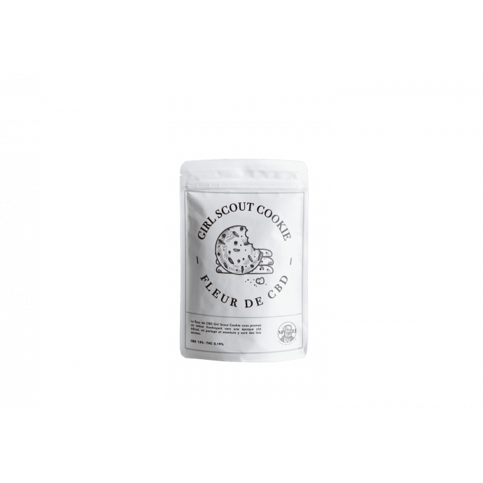 Stand up Fleur Girl Scout Cookie M2J CBD