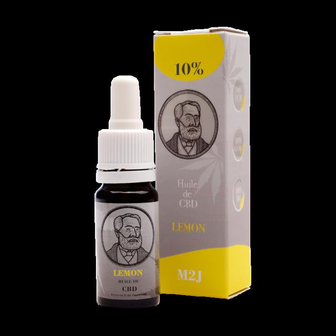 Huile cbd Lemon 10% M2J CBD