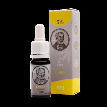 Huile cbd Lemon 5% M2J CBD